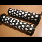 カラーグリップ/☆ホワイト-ブラック